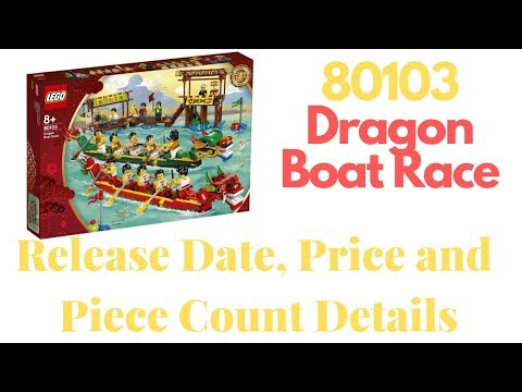 80103 Dragon Boat Race LEGO Set Details - Out Now!
