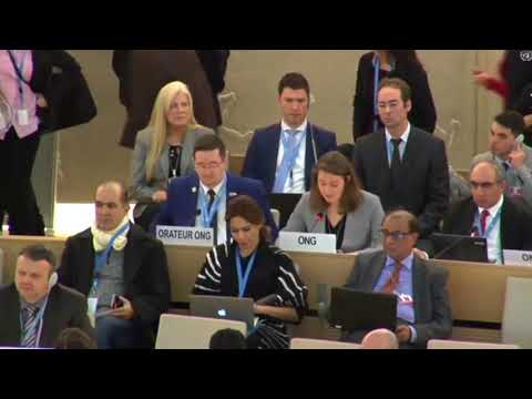 Pastor Andrew Brunson's Daughter Addresses The U.N. Human Rights Council