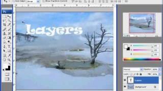 Rasterizing Type in Photoshop