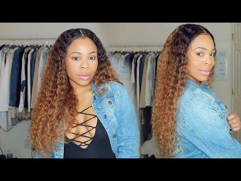 Hair color - Easiest Way to Dye CURLY Hair Ash Blonde From Black  MS BUY