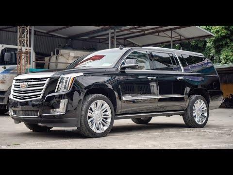 Khủng Long Mỹ Cadillac Escalade ESV 2019 giá 11 tỷ tại Việt Nam, xe khủng giá khủng - Thời lượng: 8 phút, 14 giây.