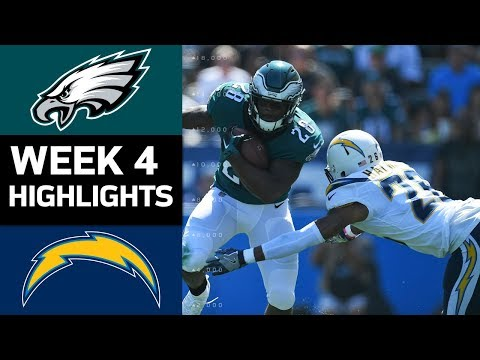 Video: Eagles vs. Chargers | NFL Week 4 Game Highlights