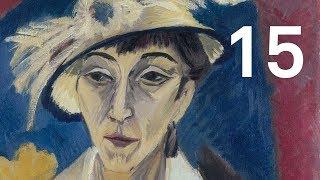 Ernst Ludwig Kirchner, Portrait Erna Schilling