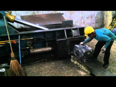 Automatic Metal Baler (ENERPAT)