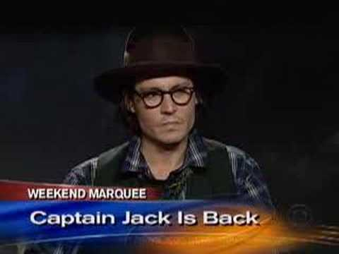 Depp On Captain Jack (CBS News)