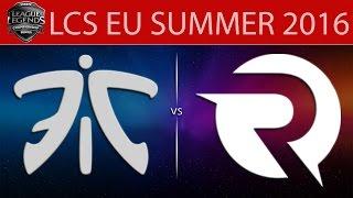 Fnatic vs Origen, game 2