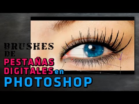 Brushes de Pestañas Digitales en Photoshop