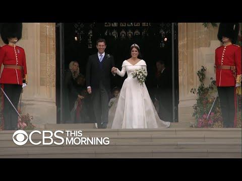 Princess Eugenie gets married at Windsor Castle