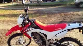 8. 2013 Honda CRF250L Private Review USA (Not a Promo) Part-1