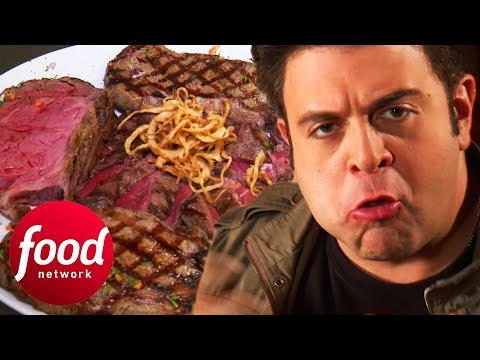 The 74 Ounce Great Steak Challenge Is An Absolute Monster!   Man v Food