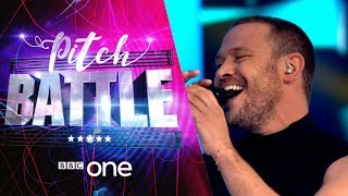 Pitch Battle website: http://bbc.in/2tspn3j Leeds Contemporary Singers sing 'Your Game'. Featuring their Superstar Guest Judge Will Young.