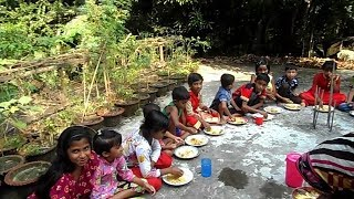 Download Lagu বনভোজন / Kids Picnic / Egg & Chicken Cooking By 4 -11 Years 20 Children Of Village / Eating Together Mp3