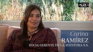 Carina Ramírez - Socia Gerente de la Aventura S.S.