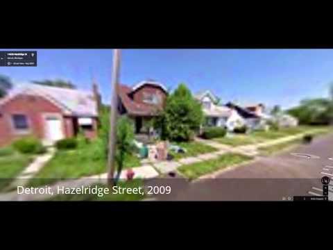 Detroit's Hazelridge Street – 2009 to 2014