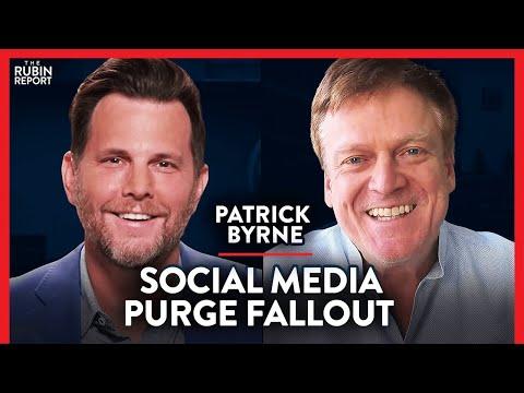 Social Media Purge Backfiring? & the Real History of Fascism | Patrick Byrne | TECH | Rubin Report