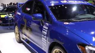 2015 Subaru WRX STI Higgins Isle Of Man TT Car At The 2015 Chicago Auto Show