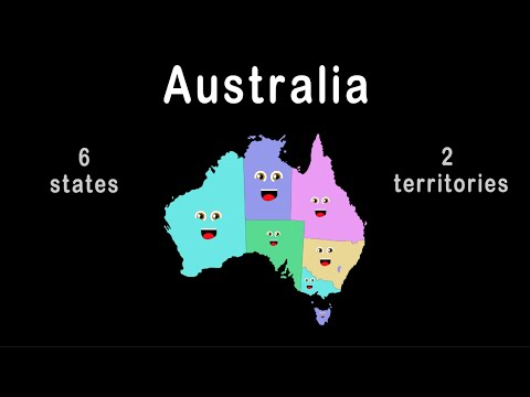 Australia Geography/Australia Country Song