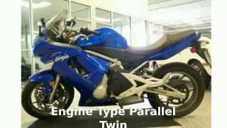 4. 2007 Kawasaki Ninja 650R - Info