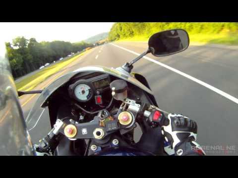 GSXR1000 Power Wheelie to 140 mph (225 kph)