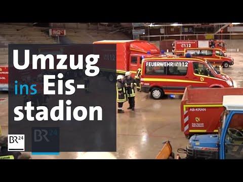 Feuerwehr geht aufs Eis: Umzug in das alte Eisstadion d ...