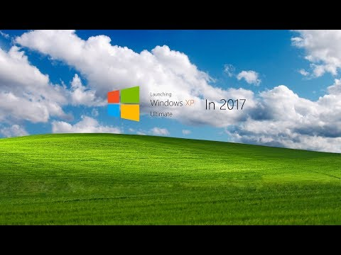 Launching Windows XP Ultimate in 2017