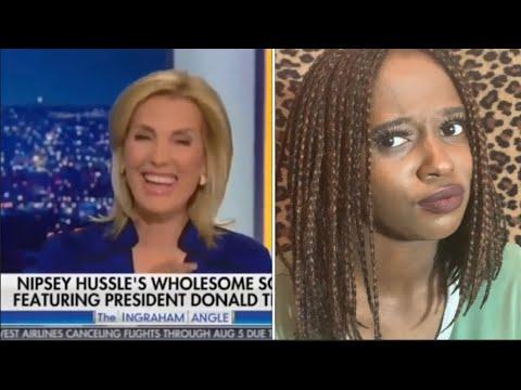 Fox News Host Laura Ingraham On Nipsey Hussle