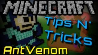 Minecraft Tips N' Tricks: 8 Bit Art!
