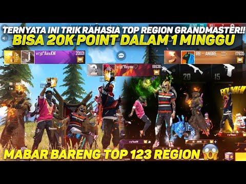 TERNYATA INI TRIK RAHASIA TOP REGION GRANDMASTER!! 20K POINT DALAM 1MINGGU - MAEN BARENG TOP123 GM