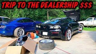 Rebuilding A Wrecked 2017 Corvette Z06 Part 3