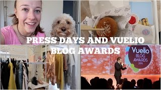 The Weekly Vlog: Press Days & Vuelio Blog AwardsLast Video: https://youtu.be/GR7-j4Y0E_EHotel Chocolat giveaway: http://bit.ly/2gGHpdkPress days, blog awards, chatting to the dog and more!Subscribe for more videos! http://bit.ly/2420JPqJasmine and Kirsty: http://soeursdeluxe.comFilmed on the Canon G7x Mark iiFIND ME ELSEWHERE:Blog: http://georgie-awaywiththefairies.blogspot.co.uk/Facebook: https://www.facebook.com/pages/Away-With-The-Fairies/319156461563847Twitter: @georgie_mbTumblr: http://red-burning-red.tumblr.com/Pinterest: http://www.pinterest.com/georgiemb/Instagram: @georgie_mbSnapchat: georgie-mbEmail: georgiemb@waitrose.comDisclaimer: I have not been paid at all to make this video. All the products mentioned have either been bought with my own cash or have been kindly gifted to me by companies or friends. Any gifted items featured are marked with a *. All opinions are my own.