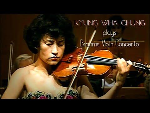 Kyung Wha Chung plays Brahms violin concerto (1996)