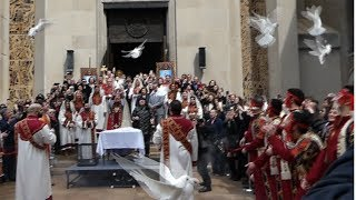 St. Vartan Armenian Cathedral in NY Celebrates Easter 2018