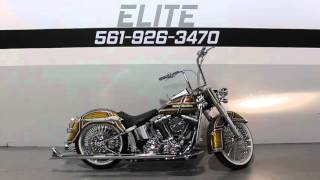 6. 2009 Harley Davidson Softail Deluxe FLSTN Custom * For Sale * SOUTHFLORIDAHARLEYS.COM