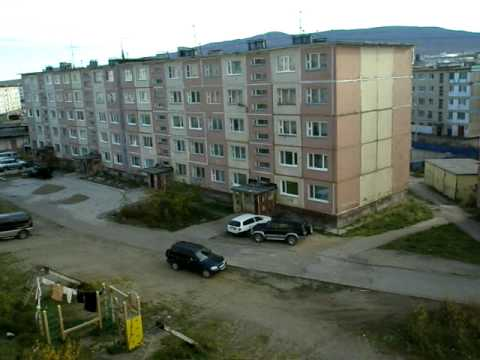 Magadan, Russia: Usual Apartments. (видео)