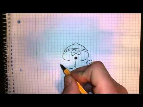 Cartman von Southpark zeichnen lernen / Cartman malen