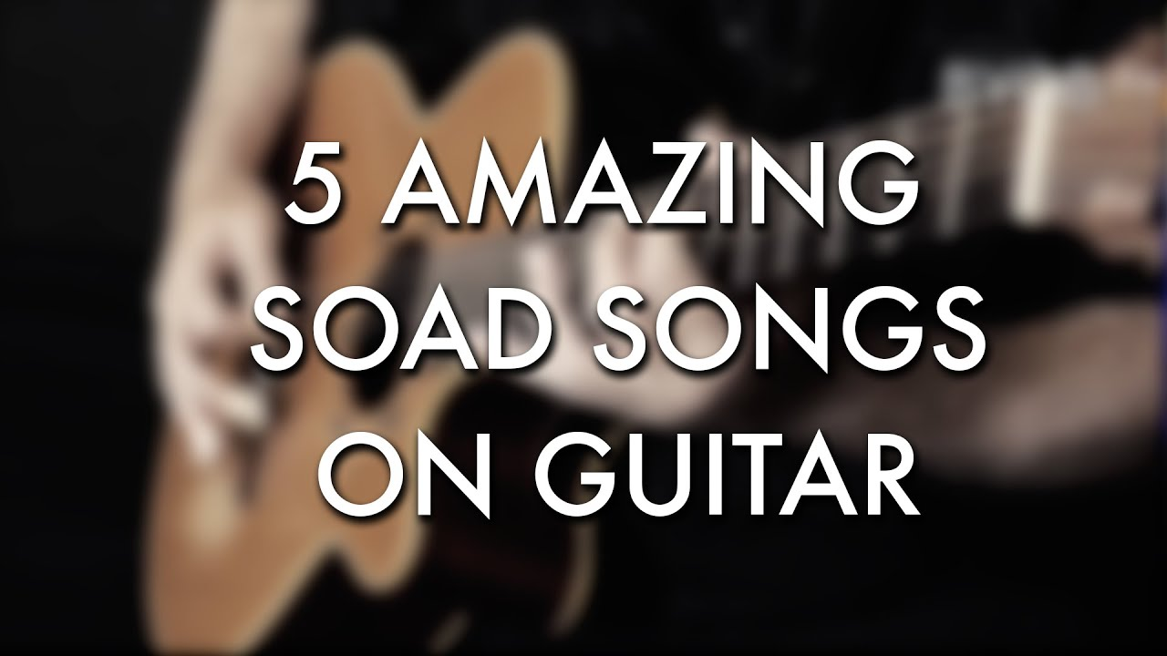 5 Amazing SOAD/System Of A Down songs on guitar – Igor Presnyakov