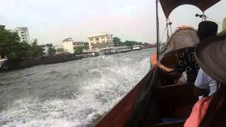 Out Of A James Bond Movie! Long Boat Ride In Bangkok, Thailand EXTREME SPORTS!