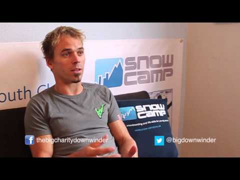 Kitesurfing News - Lewis Crathern launches The Big Charity Downwinder!