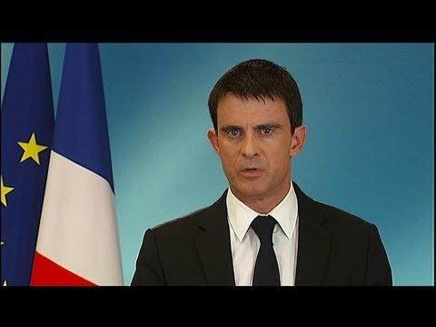 """Manuel Valls : """"Ce scrutin est un séisme qui s'adresse à tous les politiques"""" – 25/05"""