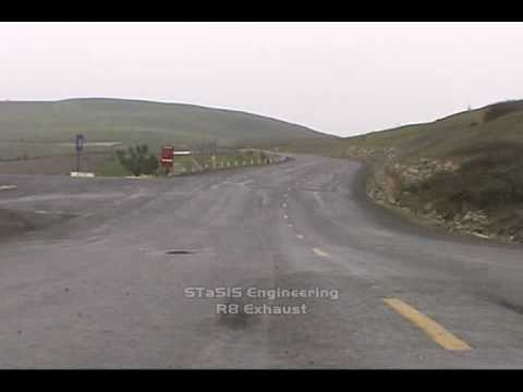 Video R8 V8 Testing