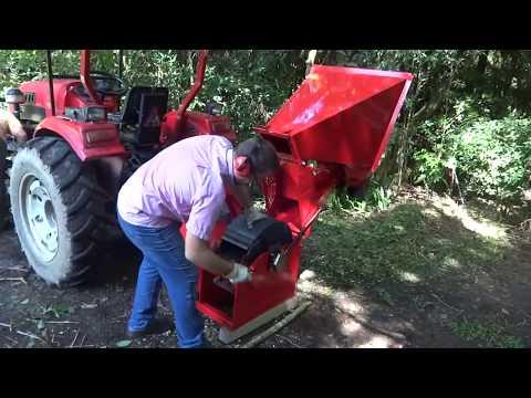 Triturador de galhos Lippel - PTU 150 T