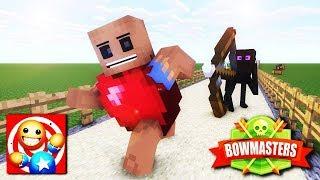Video Monster School: KICK THE BUDDY CHALLENGE and Bowmasters - Minecraft Animation MP3, 3GP, MP4, WEBM, AVI, FLV Juli 2018