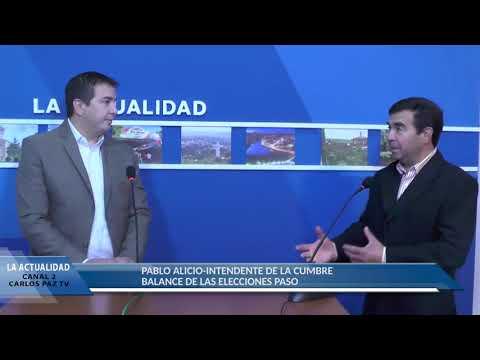 """ANALISIS DE LAS ELECCIONES EN LA CUMBRE: """"LOS RESULTADOS ERAN LOS ESPERADOS"""" EXPRESA ALICIO CON RESPECTO A LAS PASO"""