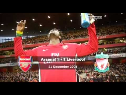 Arsenal-Liverpool 3-0 November 2006