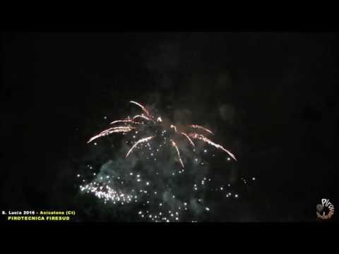 ACICATENA (Ct) - SANTA LUCIA 2016 - PIROTECNICA FIRESUD (Notturno)