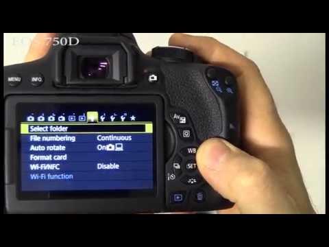 Canon EOS 750D - Unboxing