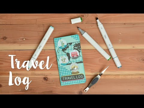 How to Make Travel Journal Shaker - Sizzix