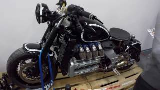 7. BMW K 1200 RS 2003 !! CUSTOM BIKE !! BLACK COLOUR !! WALKAROUND !!