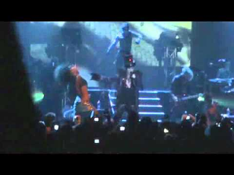 Adam Lambert Glamnation Tour Brisbane concert 22/10/2010