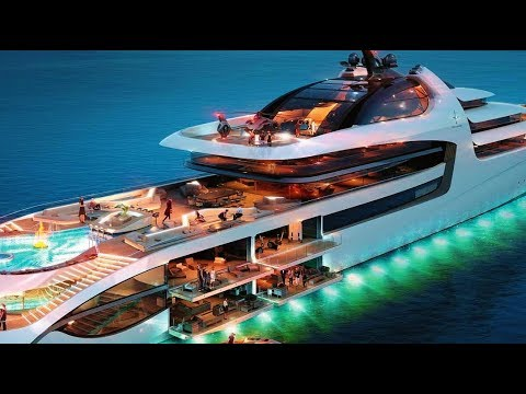 2018 Futuristic, Innovative & Elegant Admiral X Force 145 - Most Expensive Luxury Mega-Yacht